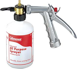 Gilmour sprayer
